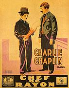 Chaplin obchodním příručím (1916)