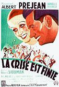 Crise est finie, La (1934)