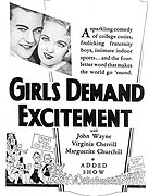 Girls Demand Excitement (1931)