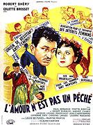 Amour n'est pas un péché, L' (1952)