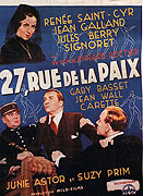 27 Rue de la Paix (1936)