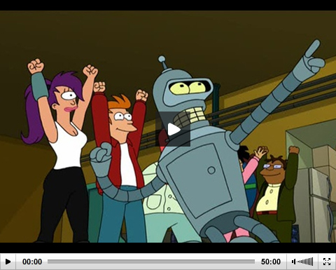 Futurama - 06x17 - Fryority report