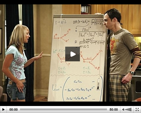 Teorie velkého třesku - 03x17 - Porcování miláška